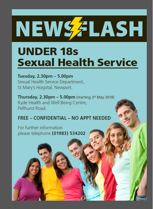 Under 18s Sexual health Service